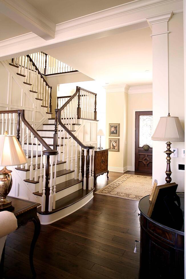 Hardwood Treads Stairs