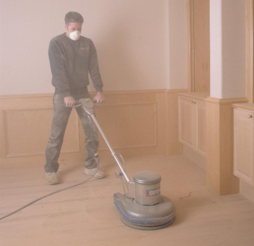 Hardwood Sanding Dust
