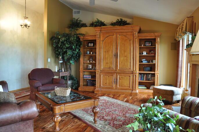 Asian Walnut Hardwood Floor