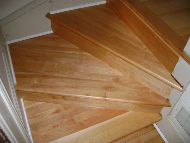Stair Refinishing After