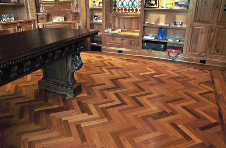 Ralphs custom hardwood floor