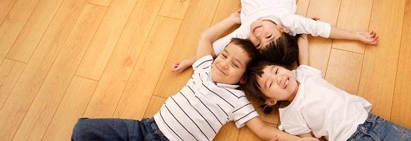healthy hardwood floor