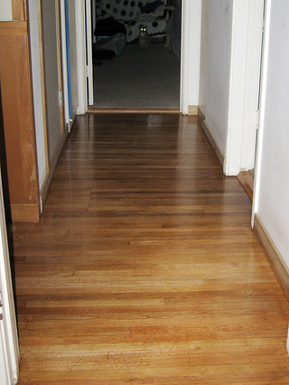 Homeowners sometimes want hardwood flooring planks to be installed in the same direction as the floor joists run.