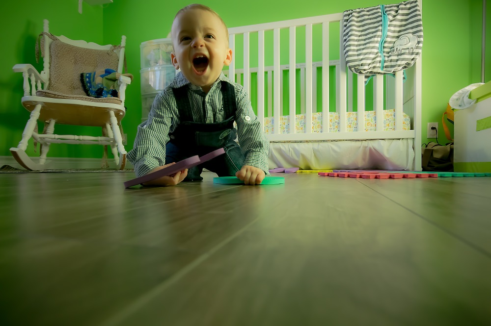 Young, rowdy children are a good reason to pay attention to the hardwood floor hardness on the Janka scale.