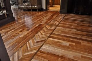The Beauty Of Hardwood Floor Borders