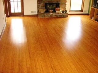 Sunlight damage can invalidate a prefinished hardwood floor warranty.
