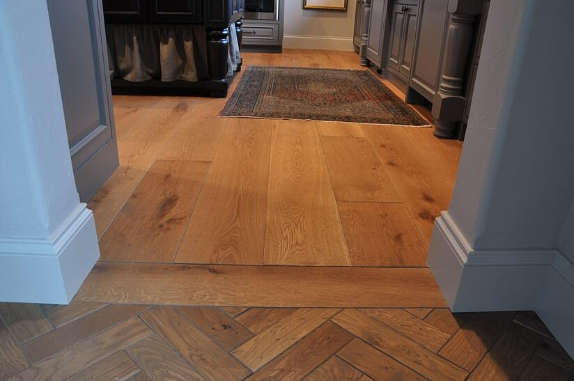 Wide planks are increasingly popular as a hardwood floor option.