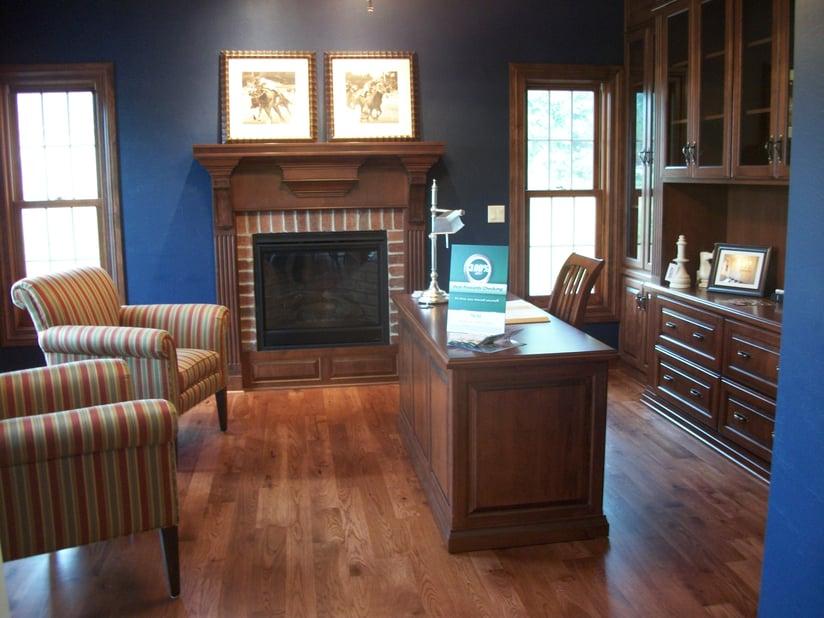 Beautiful, durable Hickory hardwood flooring