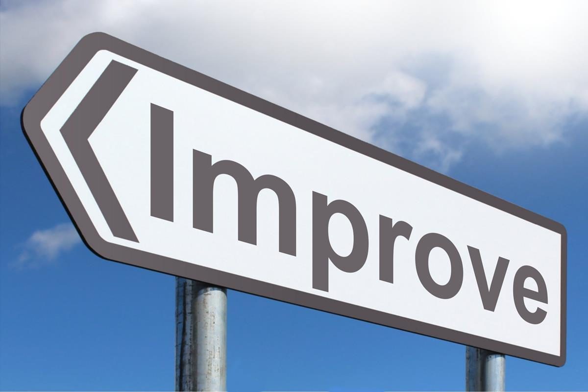 Always improving is the way to keep on a circle of growth.