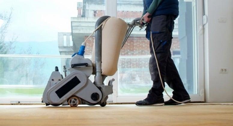 Re-sanding hardwood flooring is sometimes needed when refinishing it.