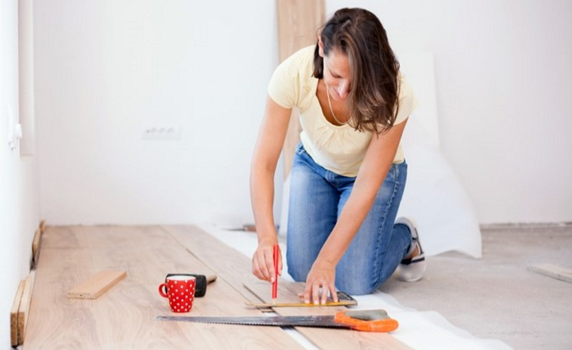 DIY hardwood flooring projects
